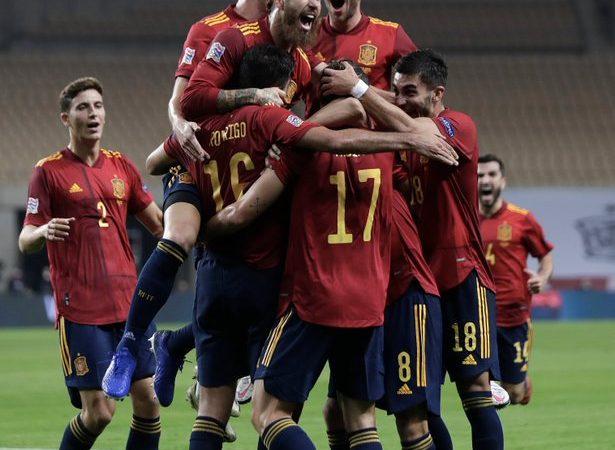 España golea y exhibe a Alemania en la UEFA Nations League