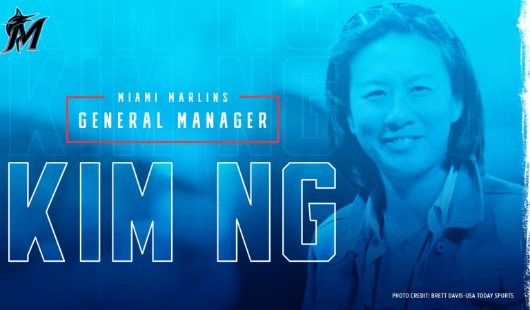Kim Ng es la primera mujer en ser gerente general en la historia de las Grandes Ligas