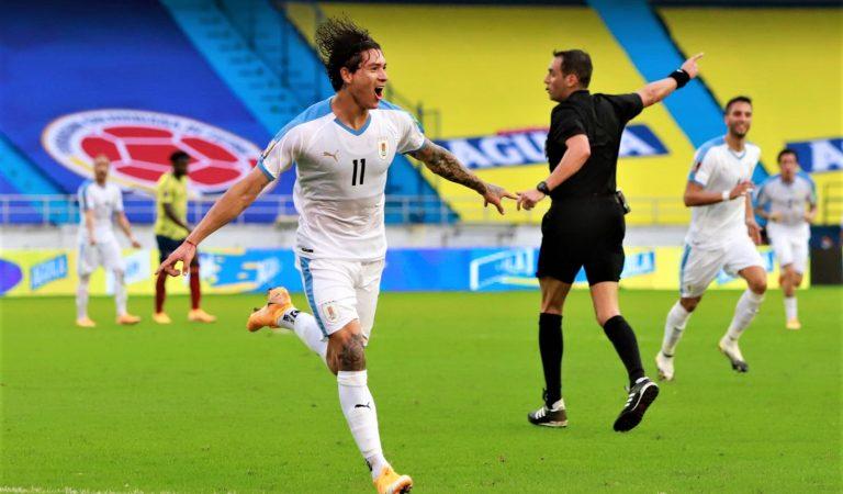 Uruguay consigue su segunda victoria en las eliminatorias CONMEBOL rumbo a Qatar 2022