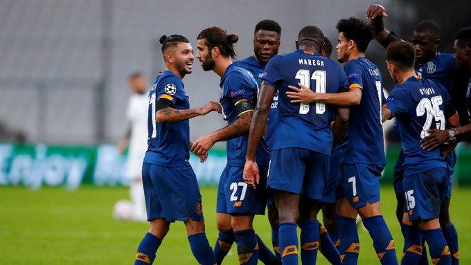 Porto venció al Marsella y mantiene su hegemonía sobre los franceses