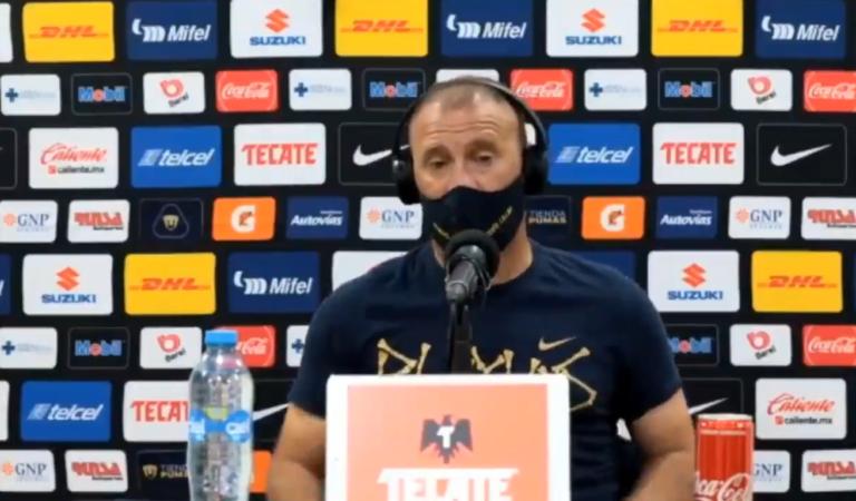 """""""Sabor amargo con el resultado, pero debemos estar atentos para la vuelta"""": Andrés Lillini"""