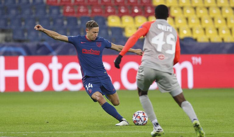 Atlético de Madrid consiguió su pase a octavos en la Champions League en Salzburg