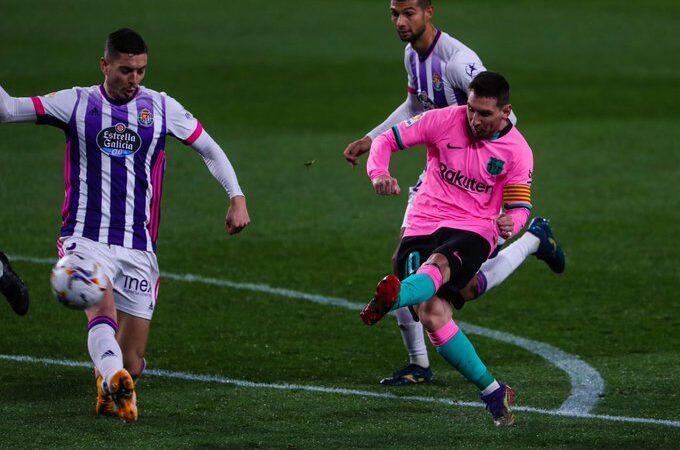 Victoria con elegancia del Barcelona ante Real Valladolid