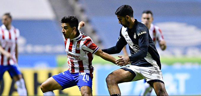 Con penal fallado, Chivas empató ante Puebla