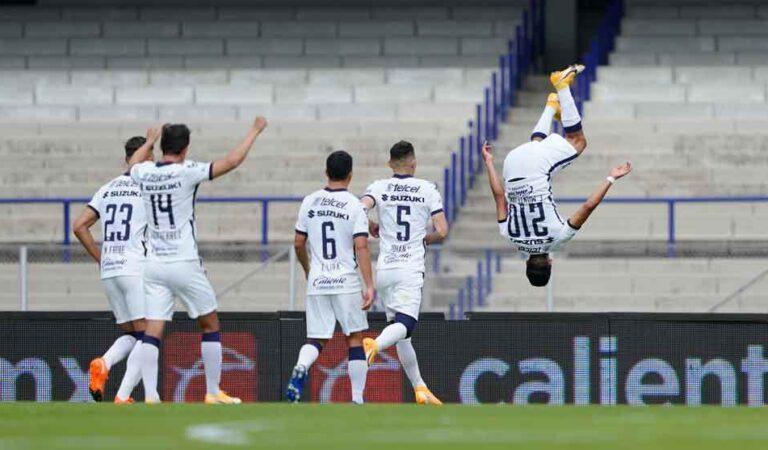 Debut soñado en casa para Pumas ante Mazatlán en el Guardianes 2021