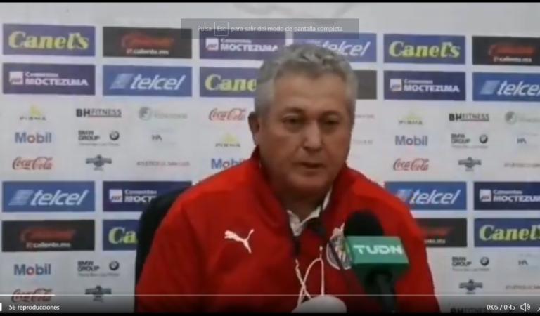 """""""Es uno de los peores partidos en los que nos ha tocado participar"""": Víctor Manuel Vucetich"""