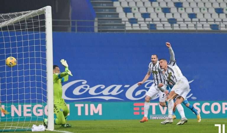 Juventus es campeón de la Supercopa de Italia 2020