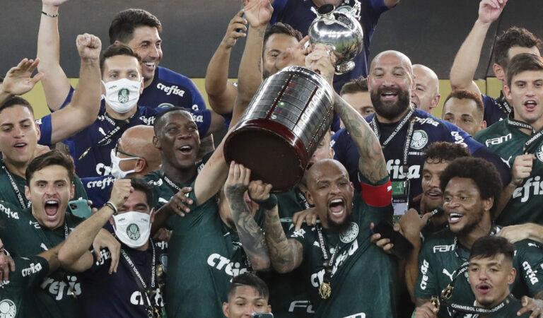 Palmeiras es campeón de la Copa Libertadores 2020, con gol de último minuto