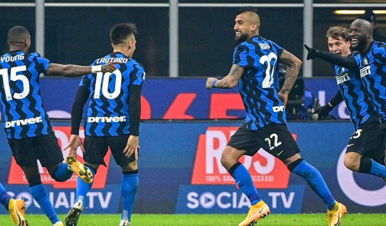 El Inter de Milán impone condiciones en el Derby de Italia