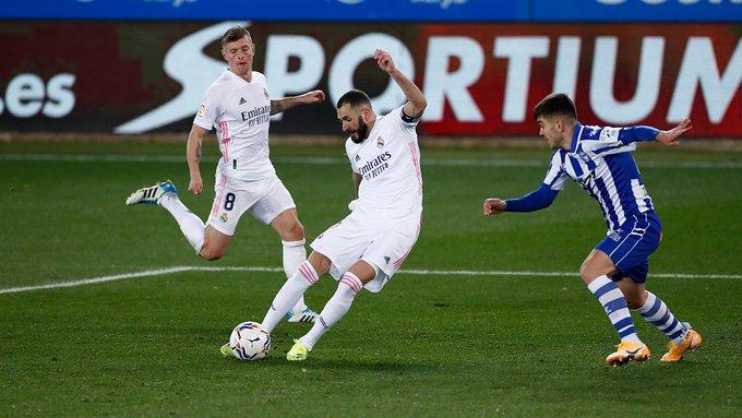 Real Madrid venció al Alavés y recobró la confianza