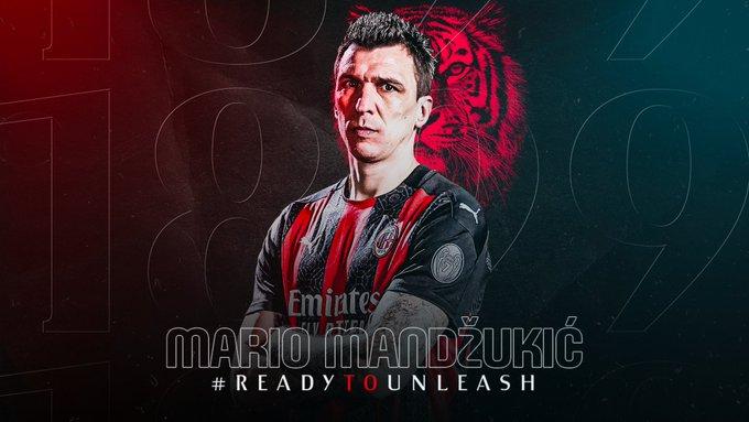 OFICIAL: Mario Mandzukic es nuevo jugador del AC Milan