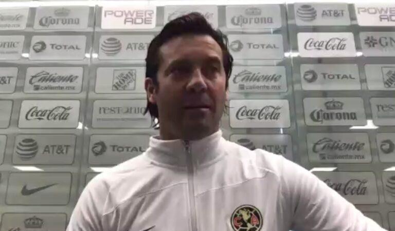 """""""Tenemos que lograr que el talento y las individualidades trabajen al servicio del equipo"""": Santiago Solari"""