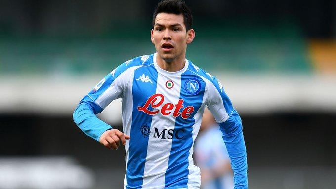 """Hirving """"Chucky"""" Lozano anotó en la derrota del Napoli ante el Hellas Verona"""
