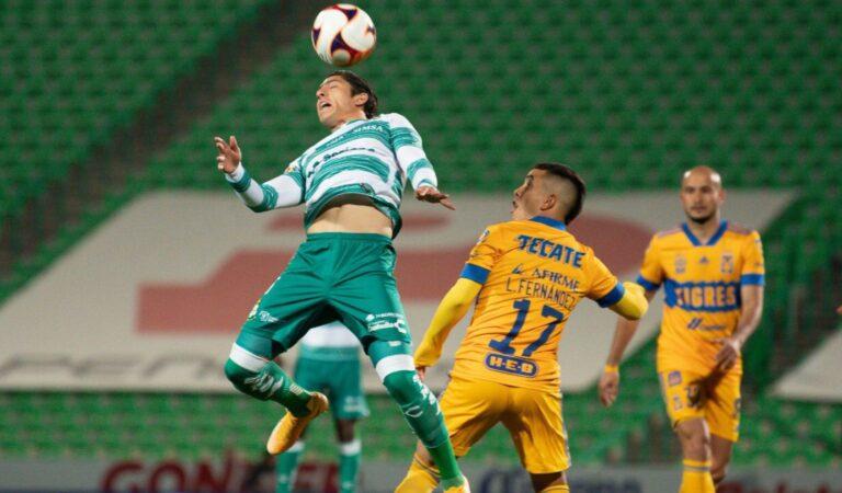 Santos Laguna consigue su segunda victoria del torneo tras vencer a los Tigres