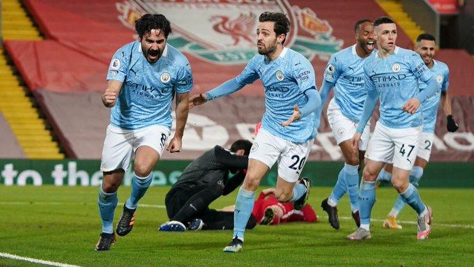 Manchester City goleó a domicilio al Liverpool con desastrosa actuación de Alisson Becker