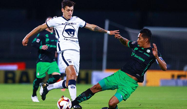 Pumas consigue los 3 puntos en casa y respira tras vencer a Santos