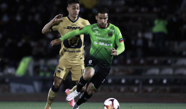 Bravos y Pumas repartieron puntos para alejarse de puestos de liguilla