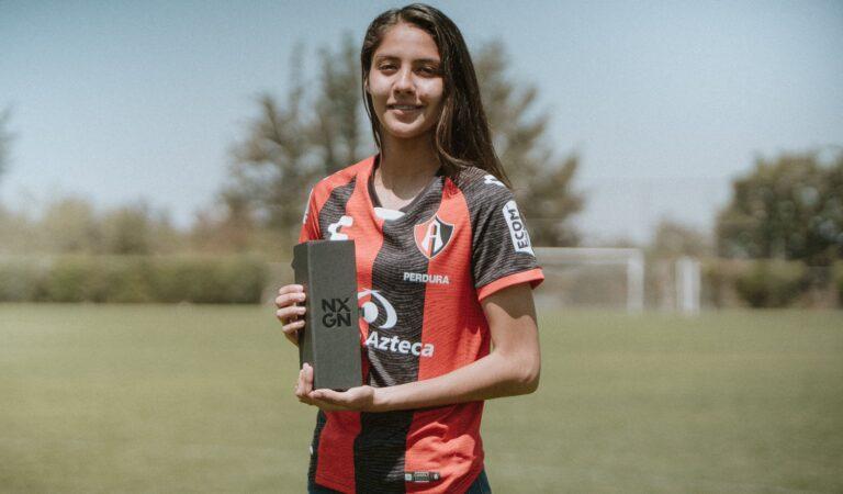 Alison González, nombrada la 3ra mejor jugadora del mundo