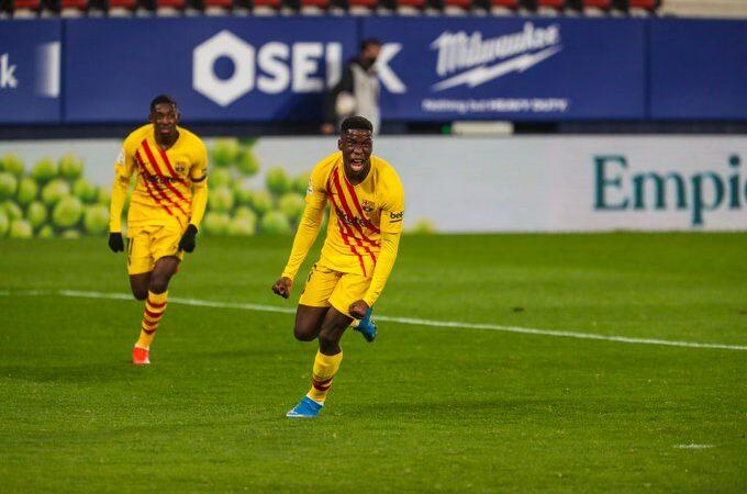 Barcelona continúa con buen paso al vencer al Osasuna