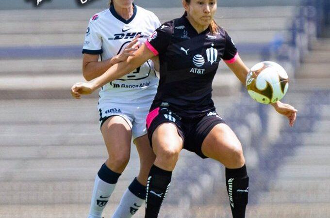 Rayadas vencieron a Pumas Femenil en los cuartos de final de la Liga MX Femenil