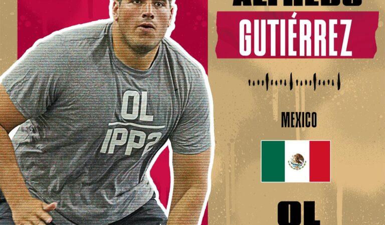 Alfredo Gutiérrez se unirá a los San Francisco 49ers