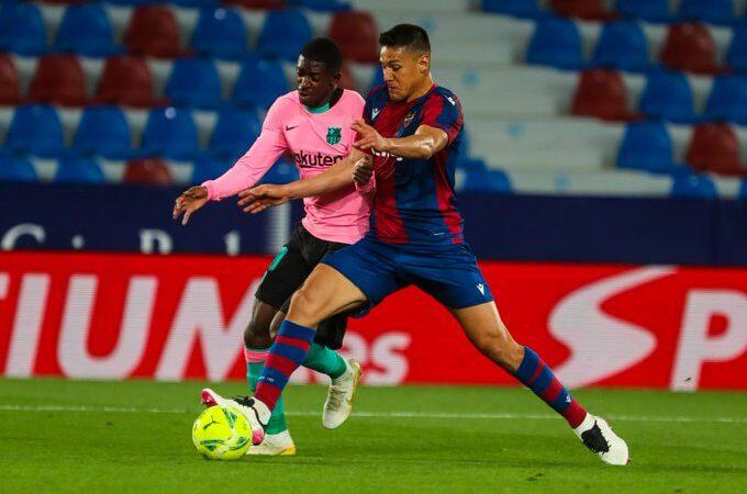 Empate amargo para Barcelona ante el Levante en la recta final de LaLiga