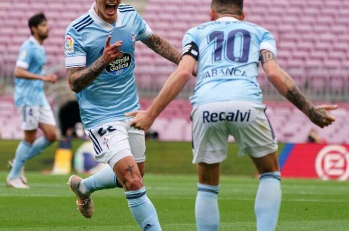 Celta de Vigo vence a Barcelona y acaba con sus aspiraciones de campeonato