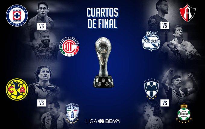 Listos los horarios de la liguilla en la Liga MX