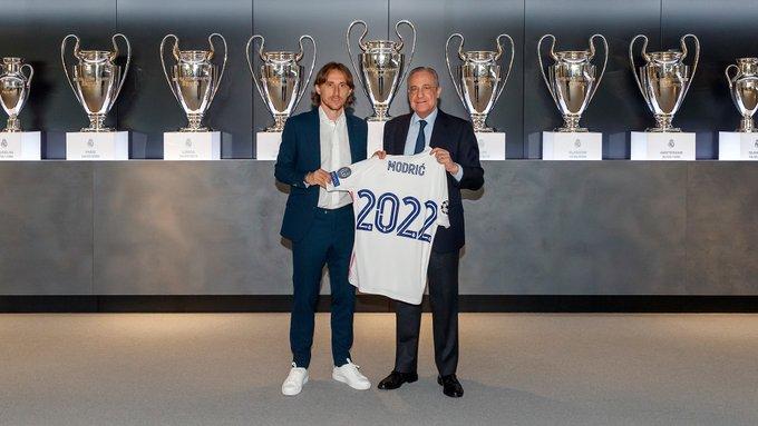 Luka Modric seguirá en España