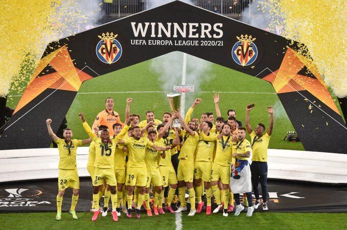 Villarreal es campeón de la UEFA Europa League tras vencer en penales al Manchester United