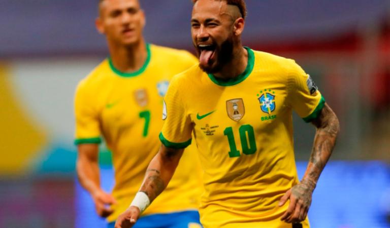 Brasil cumple con los pronósticos y golea a Venezuela en la apertura de la Copa América 2021