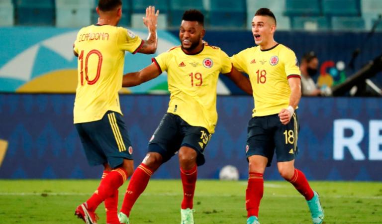Triunfo agónico de Colombia ante Ecuador en su debut de Copa América
