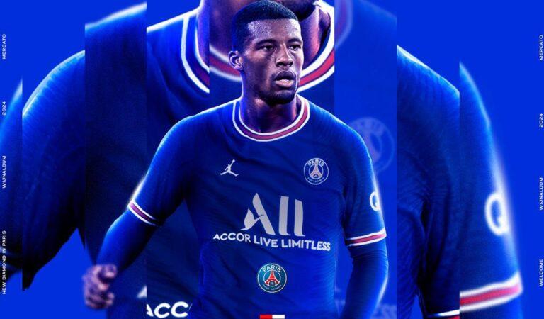 Oficial: Georginio Wijnaldum es nuevo jugador de Paris Saint-Germain