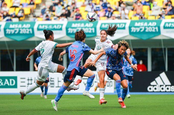 Goleada de Japón a la Selección Mexicana Femenil