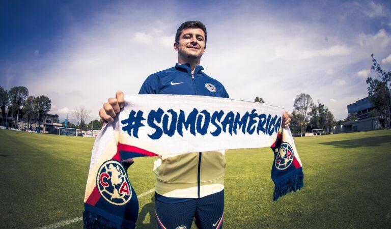 El Club América anuncia a Fernando Madrigal como su nuevo refuerzo