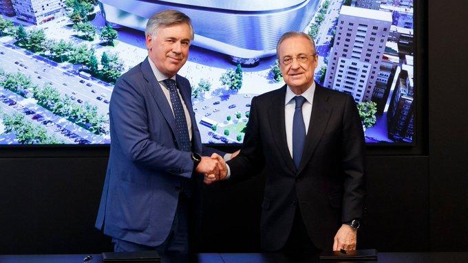 Carlo Ancelotti fue presentado con el Real Madrid