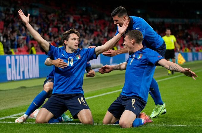 Italia tuvo que llegar a los tiempos extra para eliminar a Austria de la Eurocopa