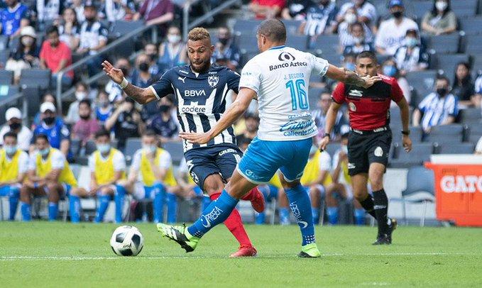 Rayados de Monterrey debutó en el Apertura 2021 empatando frente a Puebla en el BBVA