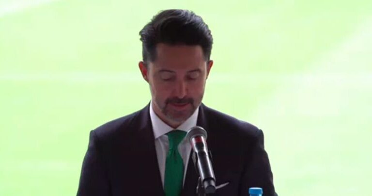 Yon de Luisa buscará que los partidos de la selección mexicana a puerta cerrada se disputen en el Estadio Azteca