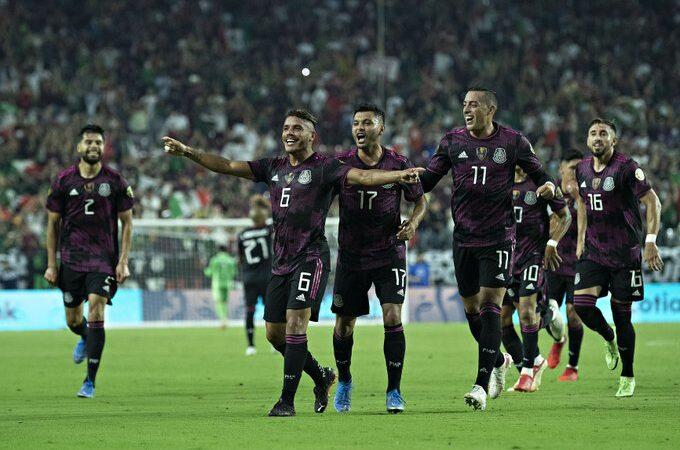 México aplasta a Honduras y avanza a semifinales de Copa Oro