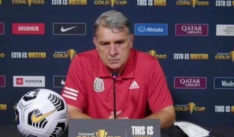 """Gerardo Martino: """"El equipo va encontrando su mejor versión"""""""