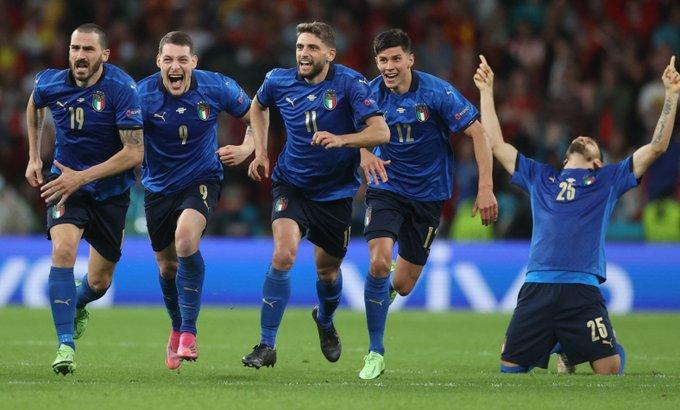Italia es el primer finalista de la Eurocopa 2020 tras vencer en penales a España