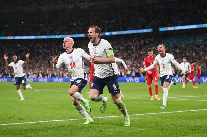 Inglaterra derrota en tiempo extra a Dinamarca para acceder a la primera final de Eurocopa de su historia