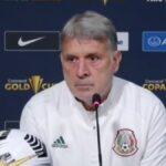 Gerardo Martino, consciente de la responsabilidad de México ante Honduras.