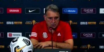 Gerardo Martino destaca buen partido de México, a pesar del cierre salvadoreño.
