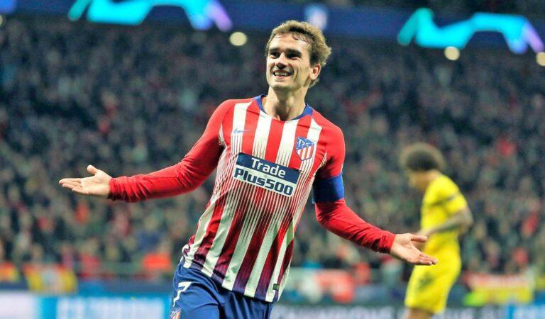 Antoine Griezmann, a nada de regresar al Atlético de Madrid