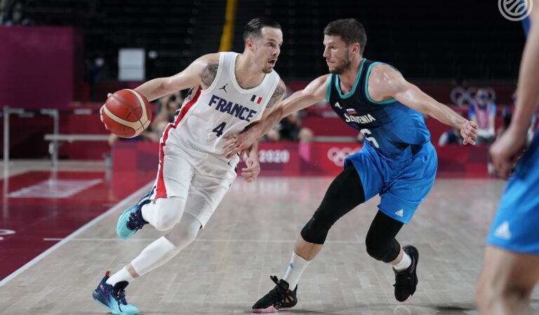 Francia sorprende a Eslovenia en básquetbol y se jugará el Oro en Tokyo 2020 ante EU