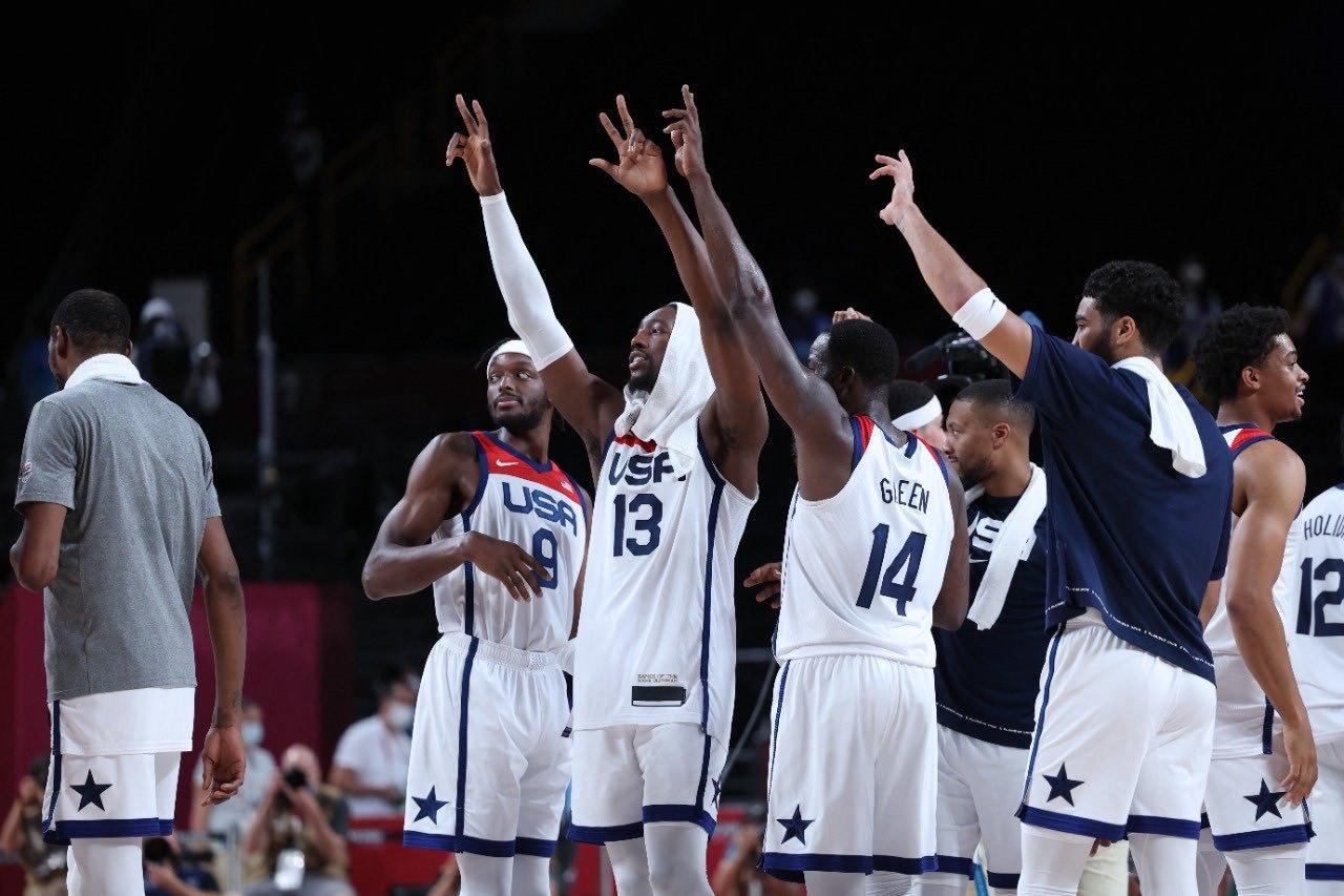 Estados Unidos es el primer finalista del baloncesto varonil de Tokyo 2020