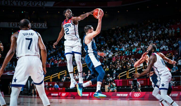 Estados Unidos es campeón olímpico del baloncesto Tokyo 2020