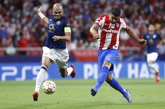 Atlético de Madrid empató con el Porto en duelo de mexicanos
